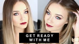 get ready with me chic evening makeup look the vine v beauty life mice you