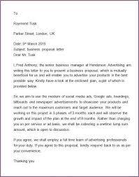 advertising proposal templates sponsorship letter template  8 advertising proposal letter sample