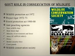 wildlife conservation jpg cb  adultering urea 25 govt role in conservation of wildlife iuml129para wildlife protection