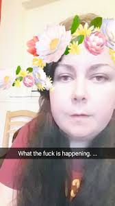 so sitting at home bored and decided to have a look at the snap chat filters and now i need to move house someone send ghost busters or a priest or some