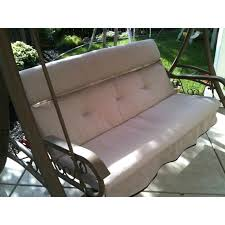 martha stewart swing cushion replacement you patio cushions