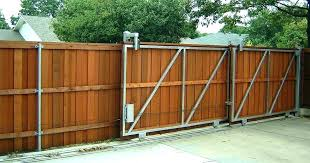 how to install wood fence panels how to build a privacy fence installing wooden privacy fence