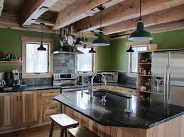 Rustic Kitchen Kitchen Kitchen Island Lighting Rustic Rustic Kitchen Island