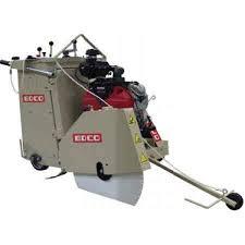 walk behind concrete saw. edco ss-24-24 24hp honda gas self propelled walk behind concrete saw d