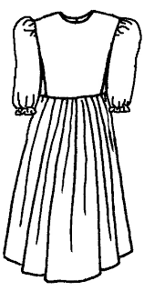 pioneer woman clothing drawing. this girls cape dress comes in a natural waist length with 3/4 elastic ruffle sleeves, simple, plain neckline and zipper back closure. pioneer woman clothing drawing d