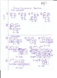 unique blog archives solving exponential equations with logarithms worksheet
