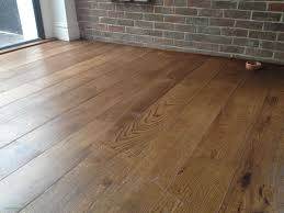engineered wood vs laminate flooring pros and cons impressionnant unfinished brushed oak engineered wood flooring stained dark and