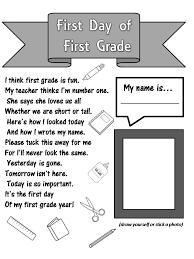 Enjoy Teaching English: FIRST DAY OF FIRST GRADE (poem)