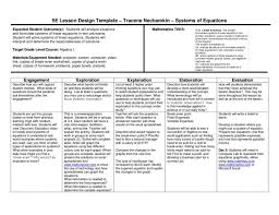 5e lesson plan systems of equations by wylie east high school issuu algebra plans for 5th