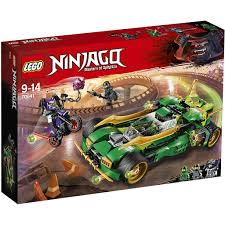 Đồ chơi LEGO NINJAGO - Chiến Binh Đêm Ninja - Mã SP 70641