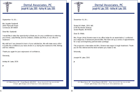 interview thank you letter dental office cipanewsletter sample thank you letter for referring a patient thank you letter
