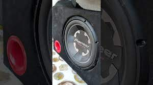 Pioneer TS_300s4 şampiyon serisi subwoofer 1400 wat - YouTube