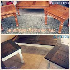 painting wooden coffee table refinishing coffee table coastal style coffee tables beach house coffee table best
