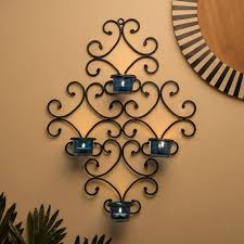 wall art votive candle holders