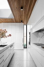 Courtyard House - figr Kitchen skylight inspiration what's not to love?