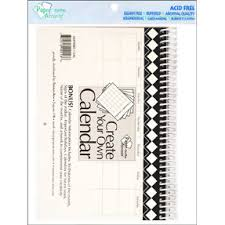 5 5 x 8 5 paper paper accents create your own calendar 5 5 x 8 5 14 month