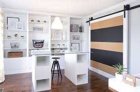 modern decoration home office features. View In Gallery Give The Classic Barn Door A Cool, Contemporary Twist [ Design: Dale Design / Modern Decoration Home Office Features U