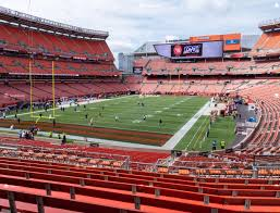 Cleveland Browns Stadium Seating Chart View Firstenergy Stadium Section 122 Seat Views Seatgeek