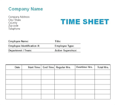 Time Log Sheet Payroll Sheets Template Employee Bi Weekly For Excel