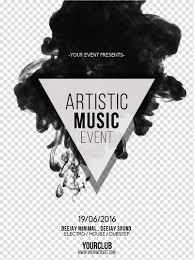 Art Event Flyer Artistic Music Event Flyer Template Advertising Poster