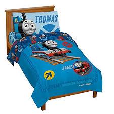 Amazon.com: Thomas the Tank Toddler Bed Set: Home & Kitchen
