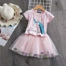 <b>Baby</b> Girl Unicorn Dress for Girls <b>Fantasy</b> Princess Summer Unicorn ...