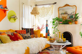 bohemian style living room.  Living Design Your Living Space Bohemianstyle And Bohemian Style Room N