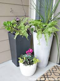 planters for front porch
