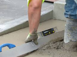 Screeding Bathroom Floor Making Impossible Ada Slopes Possible Predictable Concrete