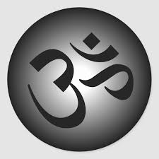 Oṃ, ॐ , ओ३म्) is a sacred sound and a spiritual symbol in indian religions. Hindu Om Meditation Symbol Classic Round Sticker Zazzle Com