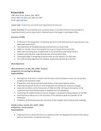 Professional Resume Samples Doc Resume Template Sample Accountant Cv Format Doc Accountant Cv 34