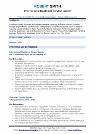 areas of expertise for customer service customer service leader resume samples qwikresume