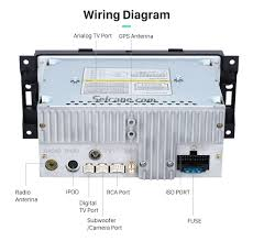 dodge durango wiring diagram radio wirdig wiring diagram top 2002 2007 dodge dakota p u durango touch screen gps