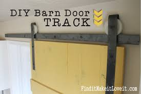 Making Barn Door Hardware Diy Barn Door Track Find It Make It Love It