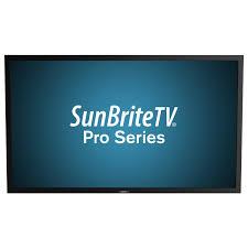 sunbrite tv 84 4k pro series outdoor tv for direct sun installations black