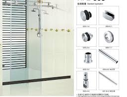 china glass door fitting sliding door hardware bathroom accessories china sliding door door