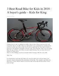 Bike Wheel Size Chart Age 3 Best Road Bike For Kids In 2018 A Buyers Guide Kids For