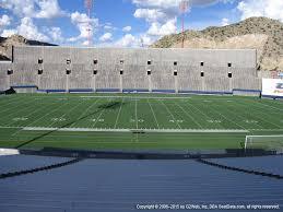 Sun Bowl Stadium View From Sideline 5 Vivid Seats