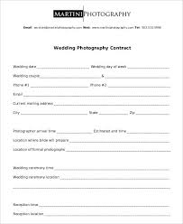 Wedding Photography Contract Form 10 Wedding Photography Contract Templates Pdf Word