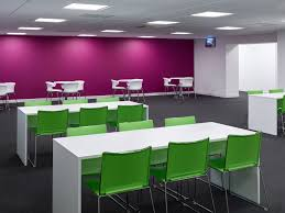 internal office pods. Telent_head_office_refurbishment_bench_seating_area. Telent_head_office_refurbishment_staff_canteen. Telent_head_office_refurbishment_canteen_seating Internal Office Pods