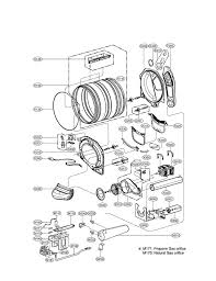lg refrigerator parts diagram. drum \u0026 motor diagram and parts list for lg dryer-parts model # dlgx3002p lg refrigerator