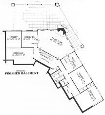 lower level image of carmel house plan home plans pinterest Parent Trap House Plansranch Home Plans L Shaped this 1 story contemporary house plan features sq feet and 2 garages