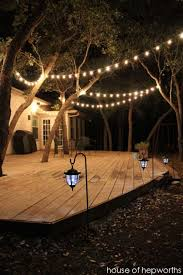 diy outdoor party lighting. 15 diy backyard and patio lighting projects diy outdoor party