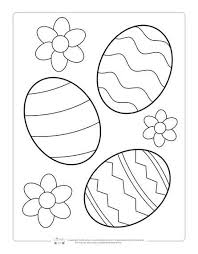 Are these not the cutest? Printable Easter Coloring Pages For Kids Itsybitsyfun Com