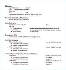 Scholarship Resume Format Beauteous College Scholarship Resume Template Scholarship Resume Format