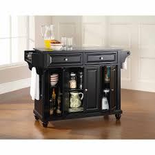 Crosley Furniture Cambridge Solid Black Granite Top Kitchen Island    Walmart.com