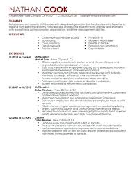 Leadership Resume Template – Agoodmorning.co