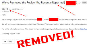 Other Sites Google From And Reviews Fake Negative Yelp Remove