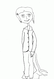 Small Picture Coraline Printable Coloring Pages Coloring Home