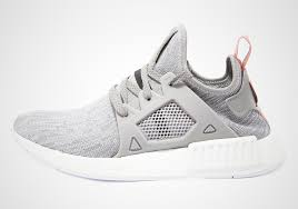 adidas shoes nmd grey and pink. adidas nmd xr1 primeknit \u201cpink stripe\u201d shoes nmd grey and pink